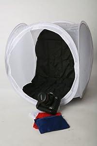 "ePhoto 24""x 24"" Studio Photography Softbox White Photo Light Tent Dome Cube T24"