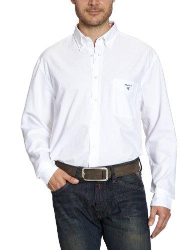 Gant Men's 355610 Casual Shirt White (White) 52