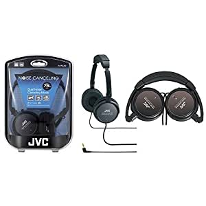 JVC HANC80 Noise-Cancelling Headphones - Black