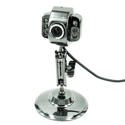 USB Webcam with LED Lights