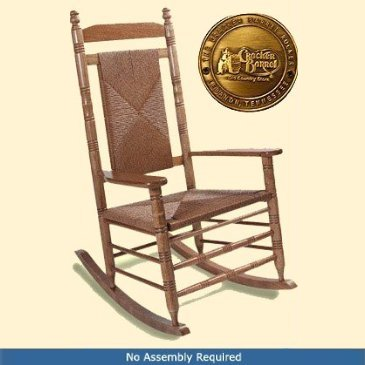 Adult Woven Seat Rocking Chair Hardwood Rocking Chairs