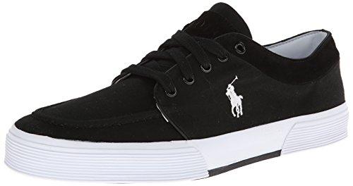 Polo Ralph Lauren Mens Fernando Fashion Sneaker,Polo Black,15