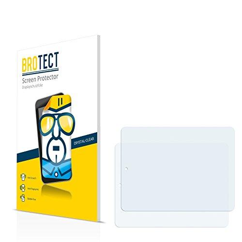 2x BROTECT® Displayschutzfolie Prestigio MultiPad 8.0 Pro Duo PMP 5580C_Duo - Schutzfolie Displayschutz Folie Crystal-Clear, Anti-Fingerprint, Kratzfest, Blasenfreie Montage