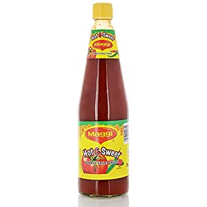 Maggi Sauce - Hot and Sweet Tomato Chilli, 1 kg Bottle