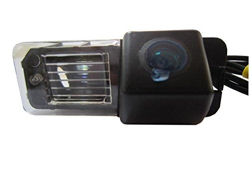 fuway CCD couleur de voiture Back Up vue arrière inversée Parking Caméra HD pour VW Volkswagen Polo V (6R) Golf 6VI PASSAT