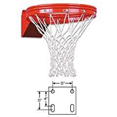 Buy FT187D First Team Super Duty Double Rim Flex Breakaway Basketball Rim by First Team
