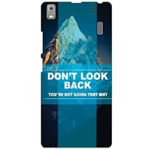 Lenovo A7000 PA030023IN Back Cover - Don'T Look Back Designer Cases