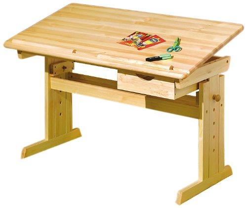 Links-30600020-Kinderschreibtisch-Schlerschreibtisch-Schreibtisch-Kind-natur-verstellbar-NEU