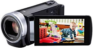 JVC GZ-EX210BEK Full HD Everio Wi-Fi equipped Memory Digital Camcorder - Black (40x Optical Zoom) 3.0 inch LCD Touchcreen
