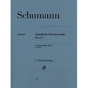 Saemtliche Klavierwerke 1