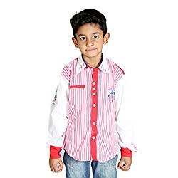 Perky Red & White Stripped Shirt