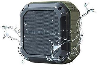 Enceinte bluetooth - [La meilleure enceinte pour l'extérieur et la douche] Enceinte portable sans fil Bluetooth/Usage extérieur, douche, fonctionne avec IPhone, iPad, téléphones Android & et lecteurs MP3