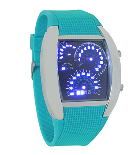 Domire Led Watch Gift Sports Car Meter Dial Fashion Outing Digital Wrist Watch