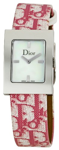 Christian Dior Women's CD052110A008 Malice Pink Leather Strap Watch