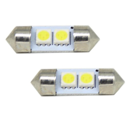 Generic 2-Smd 31Mm De3175 De3022 Led Bulbs For Car Interior Map Dome Light Reading Trunk Lights Lamps Color White