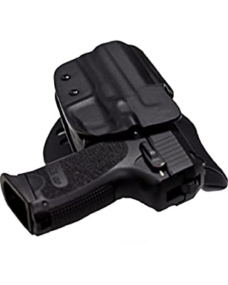 Blade Tech OWB Holster for CZ 75 SP01 with Adjustable Sting Ray Loop (Black)