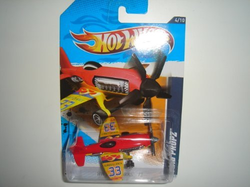 2012 Hot Wheels HW City Works Mad Propz Red/Yellow #134/247 - 1