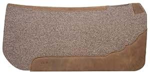 Weaver Leather Contoured Felt Saddle Pad, Tan