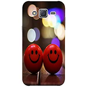 Smiley - Mobile Back Case Cover For Samsung Galaxy J2 (2016)