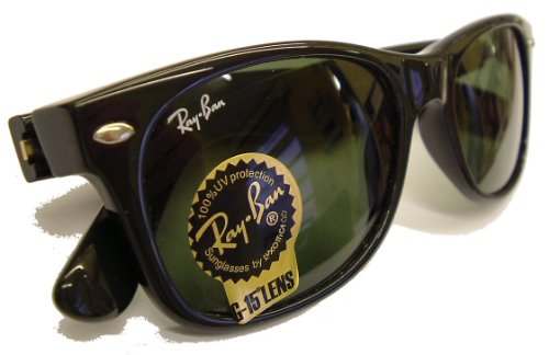 Ray-Ban 'New' Wayfarer Model 2132 901 Sunglasses
