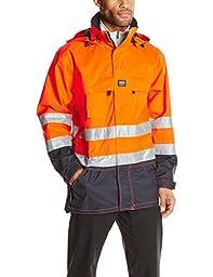 Helly Hansen Workwear Potsdam High Visibility Jacket, En471 Orange/Navy, XL