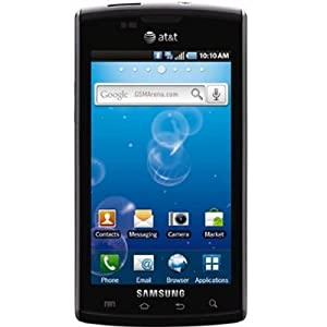 Samsung i897 Captivate Android smartphone Galaxy S