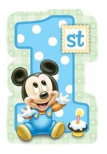 Disney Baby Mickey Mouse Edible Image Cake Toppers Frosting Sheet