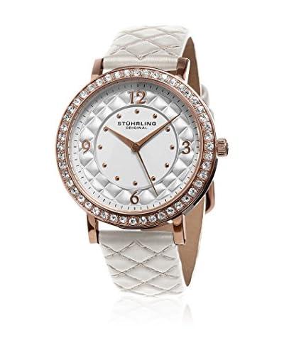 Stuhrling Original Reloj con movimiento cuarzo japonés 793.01 Audrey 786 Blanco 38 mm