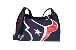NFL Officially Licensed Houston Texans Hyper Logo Hobo Handbag Purse by NFL