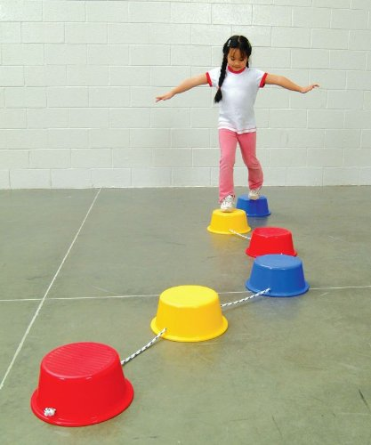 Sportime Stepping Buckets - 11 Feet - Assorted Colors