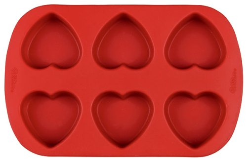 Heart shaped cupcake mould