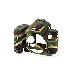 EasyCover Silicone Camera Case for Canon 5D MK3 - Camouflage