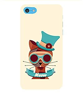 HiFi Designer Phone Back Case Cover Apple iPhone 6s Plus :: Apple iPhone 6s+ ( Cat Face Meow )