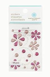 Martha Stewart Crafts Elegant Gemstone Scrolls, Pink