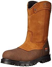 Timberland PRO Men\'s Rigmaster Wellington Work Shoe,Wheat Bandit,13 W US