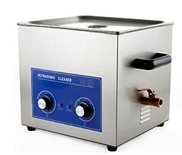 JeKen 20L Large Capacity Digital Ultrasonic Cleaner PS-G60 with Timer & Heater Without Basket 110V