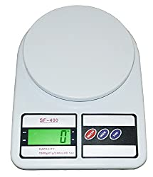 Virgo Kitchen Multi-Purpose Weighing Scale (White)
