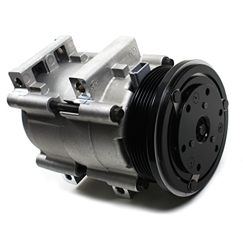 NEW ACC58157 AC A/C Compressor with 6 Grooves Clutch for FORD Windstar 3.8L (99-03) / Freestar 3.9L & 4.2L (04-07) Mercury Monterey