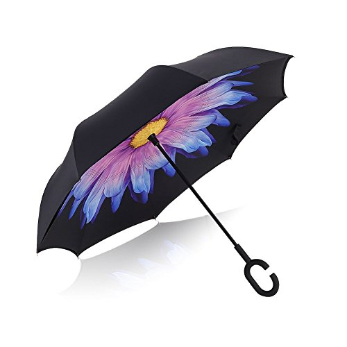 aweoods-double-layer-inverted-umbrella-cars-reversible-folding-travel-umbrella-coloured-glaze
