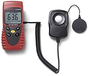 Amprobe LM-120 Light Meter, Silicon Photodiode and Filter