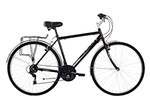 Activ Men's Commute City Urban Bike - (Black, 20 Inch, 20 Inch, 28 Inch)