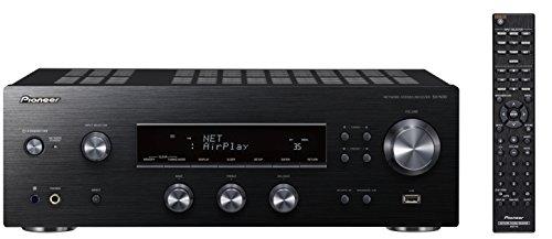 Pioneer SX-N30-K Red-receptor (2 x 85 Watt, Airplay, DLNA, WIFI, FM/AM-sintonizador, altavoz a/b cambio de marchas, App control) negro