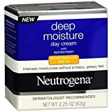 Neutrogena Deep Moisture Day Cream with Sunscreen Broad Spectrum 3.25 oz (67 g)