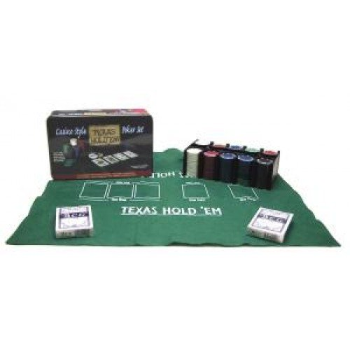 Jouetprive-Coffret de Poker Casino Style Texas Hold'em