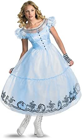 Disguise Women's Alice - Movie Poster Deluxe (Movie),Multi,S (4-6) Costume