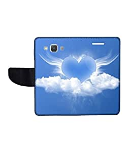 KolorEdge Printed Flip Cover For Samsung Galaxy A5 Multicolor - (50KeMlogo10263SamA5)