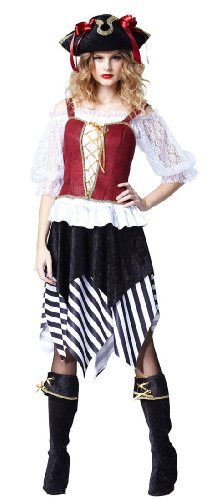 Tess the Pirate Costume - Womens XL