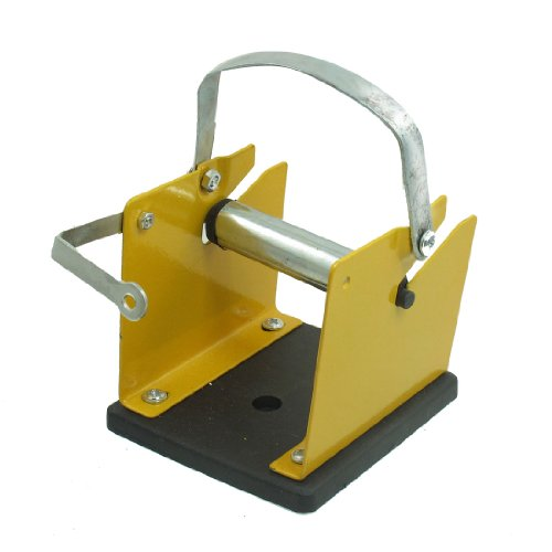 Amico Solder Wire Yellow Black Metal Stand Holder w Reel Spindle