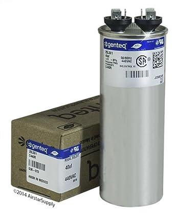 GE Genteq Round Capacitor 40 uf MFD 440 Volt Z97F9642 97F9642