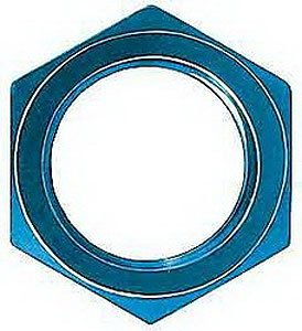 Aeroquip FCM2104 Blue Anodized Aluminum -10AN Lock Nut